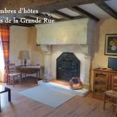 Le Relais de La Grande Rue | Chambre Mélior | Chambre d'hôte Vouvant (85)
