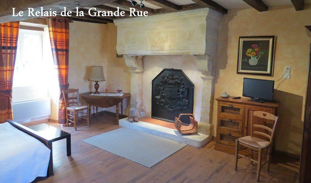 Le Relais de La Grande Rue | Chambre Mélior | Gîte Vouvant (85)