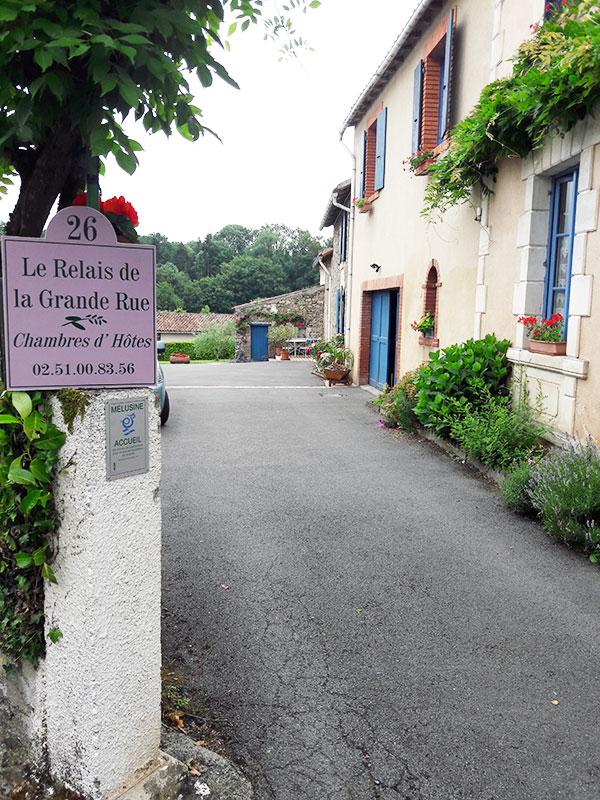Le Relais de La Grande Rue   Vue Extérieure   Vouvant (85)