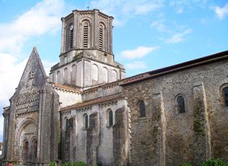 L'eglise Notre-Dame de Vouvant