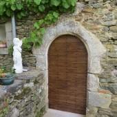 Le Relais de La Grande Rue | Chambre Mélior | Porte d'entrée |  Vouvant (85)